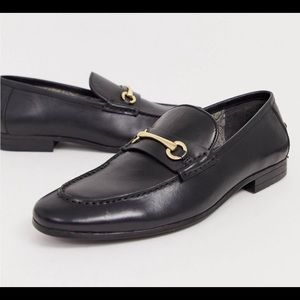 Silver Street/ASOS Black Loafers